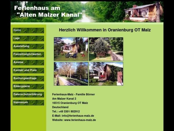 ferienhaus-malz.de