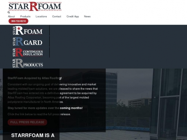 starrfoam.com