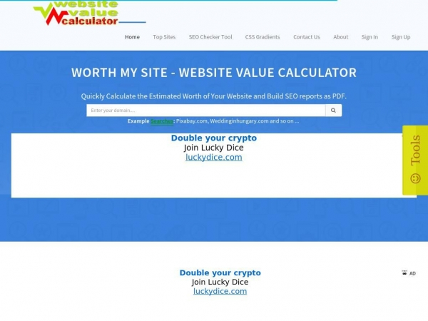 website-value-calculator.info